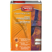 Owatrol Oil neutralises rust