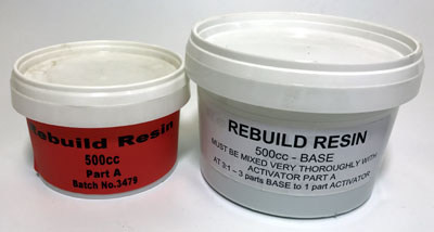 Rebuild Resin in pots, rather than cartridges