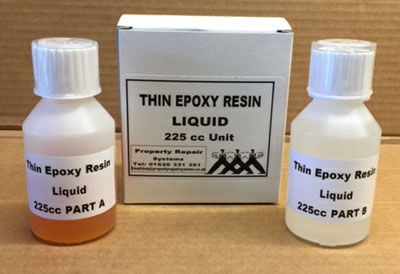 Ultra Thin Epoxy Resin for hairline concrete crack injection